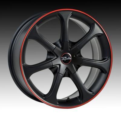 197 Black w/Red Stripe Tires