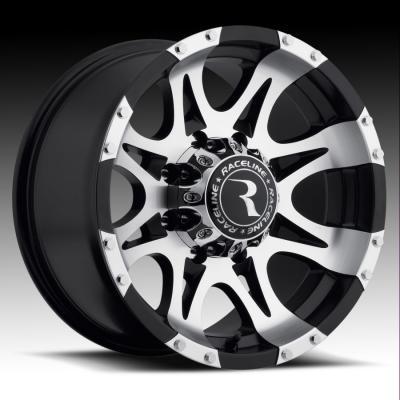 982 Raptor Machined/Black Tires